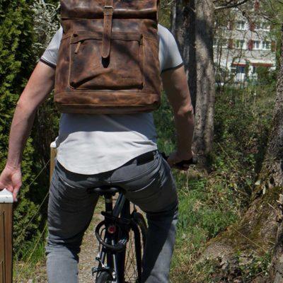 Vintage Leder Taschen